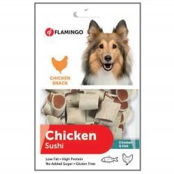 Flamingo Chicken Sushi Tavuk Ve Balıklı Köpek Ödülü 85 Gr